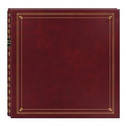 Pioneer Photo Albums MP46-BD Full Size Album 4X6 6 per Page 300 Photo Burgundy