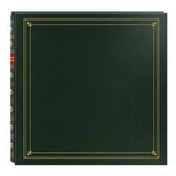 Pioneer Photo Albums MP46-GR Full Size Album 4X6 6 per Page 300 Photo Green