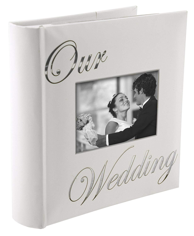 Photo4less Malden 4pcs 2 Up 4x6 Our Wedding Cursive Album 7039 26