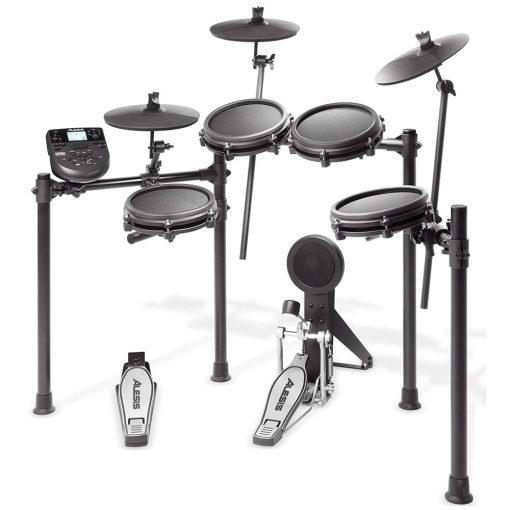 Alesis Nitro Mesh Eight Piece Electronic Drum Kit With Mesh Heads