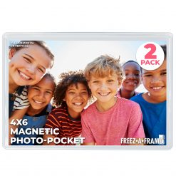 Freez A Frame 4x6 Magnetic Frame Hangable 2 Pack