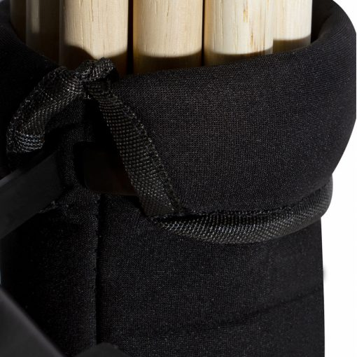 On Stage 12 Pair Maple Wood 5B Drum Sticks with Wood Tip + Drum Stick Holder + Drum Key
