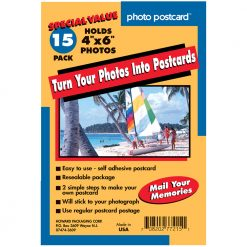 Freez A Frame  Photo Postcard 4x6 Turn Your Photos Into Post Cards (15 Pack) 77215