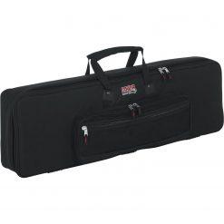 "Gator GKB61SLIM Keyboard Gig Bag to fit Most Slim Model 61 Note Keyboards. Internal dims 41.5"" x 12.5"" x 5"""