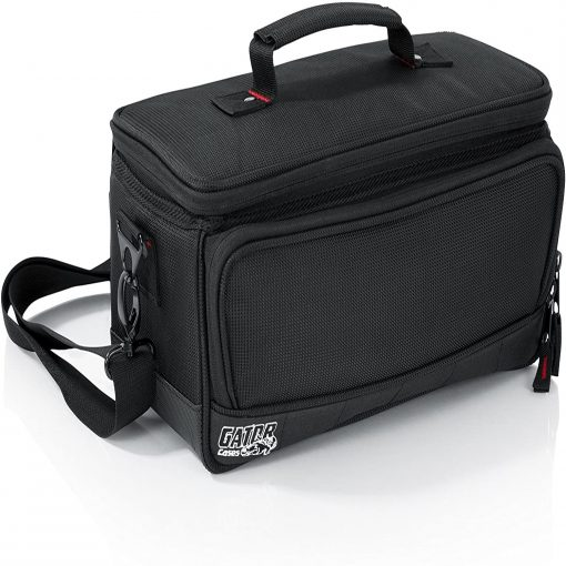 Gator GMIXERBAG1306 Padded Nylon Bag Custom Fit for the Behringer X-AIR series Mixers; 13.1″ X 6.25″ X 6″