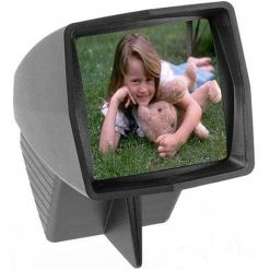 Pana-Vue 1 Lighted 2x2 Slide Film Viewer for 35mm Black