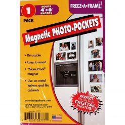 Freez-A-Frame Magnetic Photo Pocket  4 x 6 ( 1 Pack) 32304