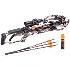 Ravin Crossbows R20 430 FPS Crossbow - Predator Camo + Ravin Crossbow Serving and String Fluid