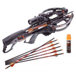 Ravin Crossbow R26 400 FPS Crossbow - Predator Dusk Grey + Ravin Crossbow Serving and String Fluid