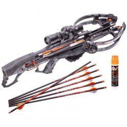 Ravin Crossbows R29 430 FPS Crossbow - Predator Dusk Camo + Ravin Crossbow Serving and String Fluid