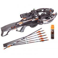 Ravin Crossbow R29 430 FPS Sniper Crossbow Package - Predator Dusk Camo + Ravin Crossbow Serving and String Fluid