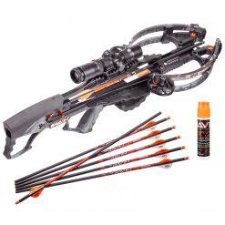Ravin Crossbows R29X 450 FPS Crossbow - Predator Dusk Camo + Ravin Crossbow Serving and String Fluid