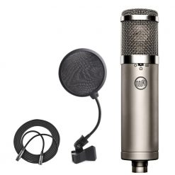 Warm Audio WA-47jr FET Condenser Microphone + 4-Inch Pop Filter + XLR Mic Cable