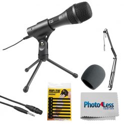Audio-Technica Dynamic Handheld Microphone + High-Quality Accessories