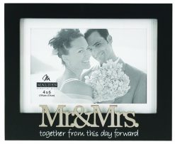Malden 4X6 Mr & Mrs. Matted Expressions (8272-46)