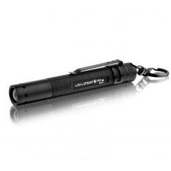 LEDLENSER - P2 Mini Key-Chain Flashlight,16 Lumens, Black
