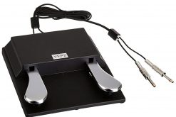 Studiologic VFP 2/10-B Double Piano-Style Open Polarity Sustain Pedal with Stereo Plug, for Keyboards and MIDI Controllers