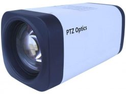 PTZOptics 12X-ZCAM 1080p Optical Zoom IP Box Camera, White