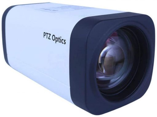 PTZOptics 12X-ZCAM 1080p Optical Zoom IP Box Camera, White