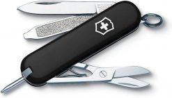Victorinox Swiss Army Signature Pocket Knife Multi-Tool, Black