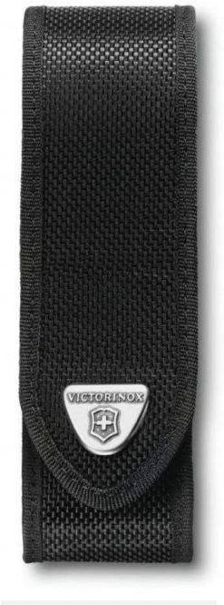 Victorinox Swiss Army Large RangerGrip Belt Pouch, Black Nylon