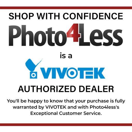 Vivotek 5MP 30M IR H.265 Indoor Dome Camera , IoT Security, 2.8mm