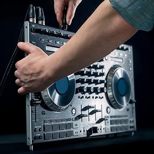 Numark Professional NS6II 4-Channel Premium DJ Controller + HF125 DJ Headphones