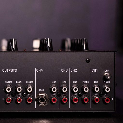 Numark Professional M6 USB 4-Channel USB DJ Mixer + HF125 Professional DJ Headphones