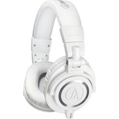 Audio-Technica ATH-M50xWH Professional Monitor Headphones, White