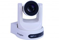 PTZOptics 30X-NDI Network Broadcast Camera - White