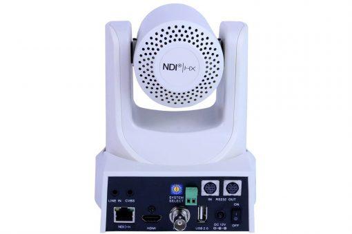 PTZOptics 30X-NDI Network Broadcast Camera - White