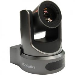 PTZOptics 20X-NDI Broadcast and Conference Camera (Gray)