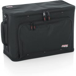 Gator GRRACKBAG4U 4U Lightweight Rack Bag with Aluminum Frame and PE Reinforcement