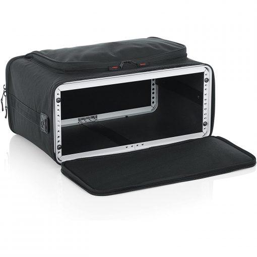Gator GRRACKBAG4U 4U Lightweight Rack Bag with Aluminum Frame and PE Reinforcement