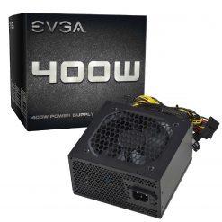EVGA Power Supply 400 Watts, 100-N1-0400-L1