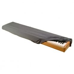 On Stage KDA7061G 61-76-Key Keyboard Dust Cover, Gray