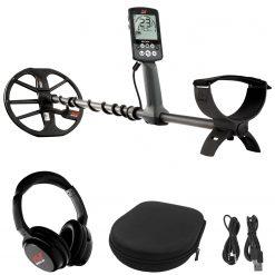 "Minelab EQUINOX 600 Multi-Purpose Metal Detector with EQX 11"" Double-D Smart Coil + EQUINOX Wireless Bluetooth Headphones"