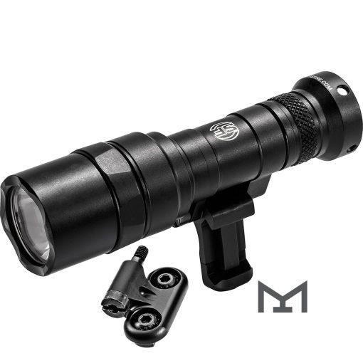 SureFire Mini Scout Light Pro Weapon Mounted LED Light, 500 Lumens – Black
