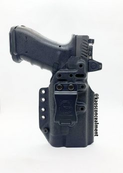 Kaos Concealment Fusion 2.0 Kydex Holster for Glock 9/40 - Black