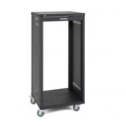 Samson SRK21 Universal 21-Space Rack Stand with Casters