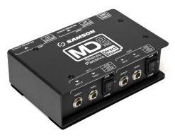 Samson Professional Stereo Passive Direct Box (Shielded Transformer)