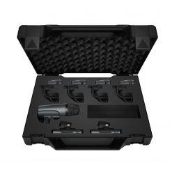 Sennheiser E 600 SERIES DRUM CASEIncludes 1x e602-II, 4x e604, 2x e614 in a plastic case with die-cut foam to protect your investment
