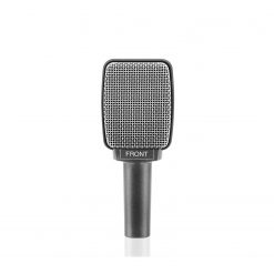 Sennheiser e 609 SILVERInstrument microphone (supercardioid, dynamic) for guitar amplifiers with 3-pin XLR-M. Includes (1) MZQ 100 clip and (1) carrying pouch (6.4 oz)