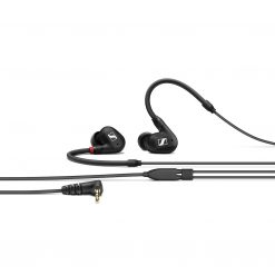 Sennheiser IE 40 Pro BlackIn-ear monitoring headphones featuring SYS 10 dynamic transducer and 1.3m cable. Includes (1) IE 40 PRO black with 3.5mm jack, (1) soft pouch, (1) set of silicone ear adapters (S,M,L), (1) set of foam ear adapters (S,M,L) and (1