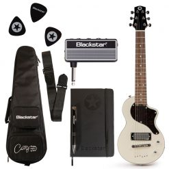 Blackstar Travel Guitar Pack White with AmPlug Fly