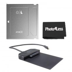 Atomos Angelbird ATOM X SSDmini 500 GB External Solid State Drive with Atomos Usb-C 3.1 Powered Docking Station