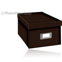 Pioneer Photo Albums CD/DVD Storage Box (Dark Brown)