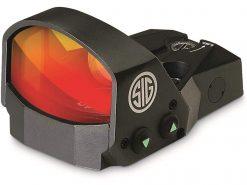 Sig Sauer ROMEO1 1X30mm Reflex Red Dot Sight, 3 MOA Red Dot Reticle - Black
