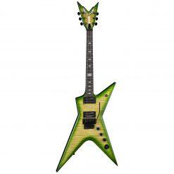 Dean Guitars Stealth Floyd FM Dime Slime Guitar w/ Case (STHF DS)