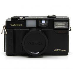 Yashica MF-2 Super Film Camera Black